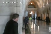 Video shows parliament scene as shots fired