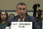 Gruber: 'I am embarrassed and I am sorry'