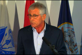 Hagel ordered commanders to be on 'high...