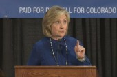 Clinton: Reproductive rights are 'under...