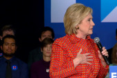 Clinton talks tough on 'criminal' terrorists