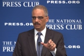 Eric Holder boasts about his basketball...