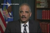 Holder calls for peaceful protests in...
