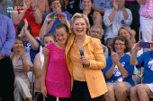 Hilary Clinton inspires voters at Town Hall