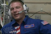 Galactic greeting: ISS receives a new crew