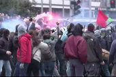 Protesters face police, tear gas in Italy