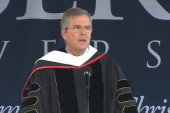 Jeb Bush at Liberty University commencement