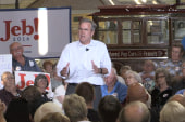 Bush: Walker's exit 'a surprise to me'