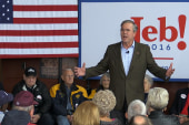 Jeb compares Washington to a 'parasite'