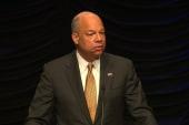 Jeh Johnson: DHS funding debate is 'absurd'