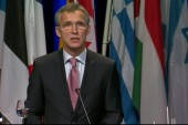NATO secretary's strong words on Russia