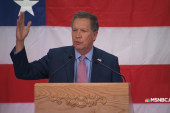 Kasich gives a lesson on problem solving