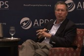 Kasich says 'destroy and degrade' ISIS