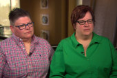 Mich. couple speaks before SCOTUS arguments