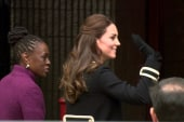 Princess Kate meets the First Lady of New...