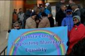 KS celebrates gay marriage with mass ceremony