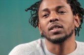 Kendrick Lamar raps with NJ students