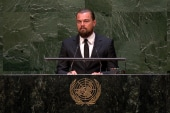 Leo DiCaprio: Climate change is not hysteria