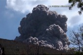 Dramatic volcano eruption in Nicaragua