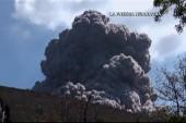 Dramatic volcano eruption in Nicaragua