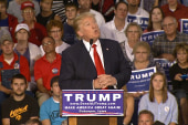 Trump offers up Bush impression at IA rally