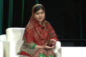 Malala: 'Instead of sending guns, send books'