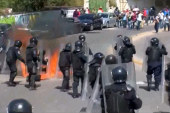 Violent clashes over Mexico student deaths