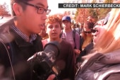 Reporters clash with Mizzou activists