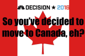 So you've decided to move to Canada, eh?