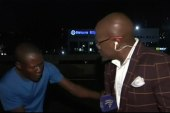 South African reporter mugged on camera