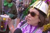 Jubilation in New Orleans for Mardi Gras