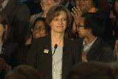 Michelle Nunn gives victory speech