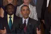 Pres. Obama speaks at first-ever WH Demo Day