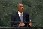 Obama on the need to contain Ebola