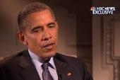 NBC's Lester Holt interviews President Obama