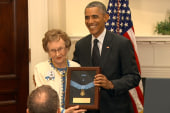 Obama awards Medal of Honor to Gettysburg...