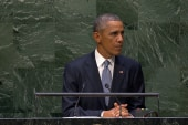 Obama on resolving Iran's nuclear issue