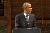 Obama takes jab at 2016 GOP field at event