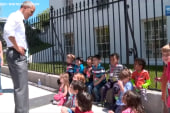 These kids want to have Obama for lunch