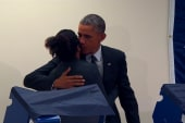 Voter tells Obama: 'Don't touch my...