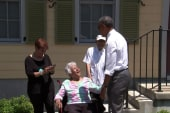 Obama, Landrieu meet with Tremé residents