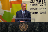 Obama presents climate action at UN
