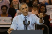 Obama interrupted by protester on immigration