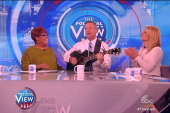 O'Malley performs 'Bad Blood' on 'The View'