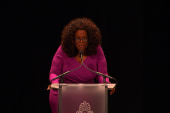 Power goes out during Oprah speech in DC