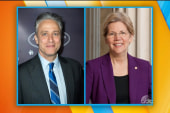 Is Sen. Warren's secret crush Jon Stewart?