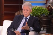 Bill Clinton, trying to get away with...