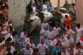 Pamplona's 'Running of the Bulls' kicks off
