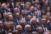 French Parliament sings national anthem
