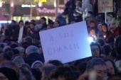 Vigil draws thousands in Paris